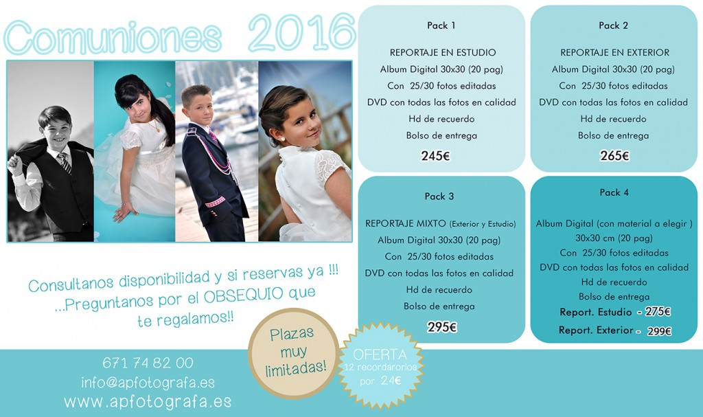 Promociones COMUNIONES 2016_ApFotografa web